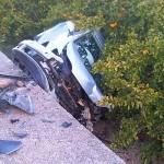Fallece un hombre y una mujer resulta herida grave en una colisión frontal entre dos turismos