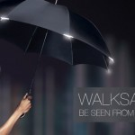 Walksafe, un paraguas contra el atropello
