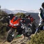 Moto y piloto seguros
