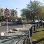 Guardar las distancias, la mejor opción entre bicicletas y camiones